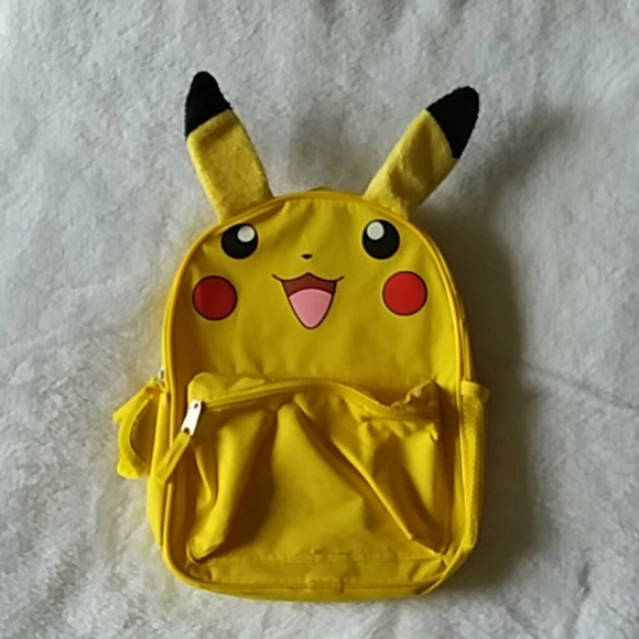 Pokemon Other - Good condition Pikachu character backpack